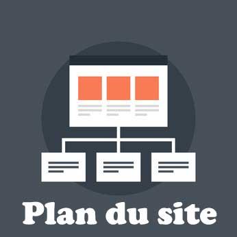 Plan du site de l'agence