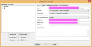 Compléter FTP pour WordPress