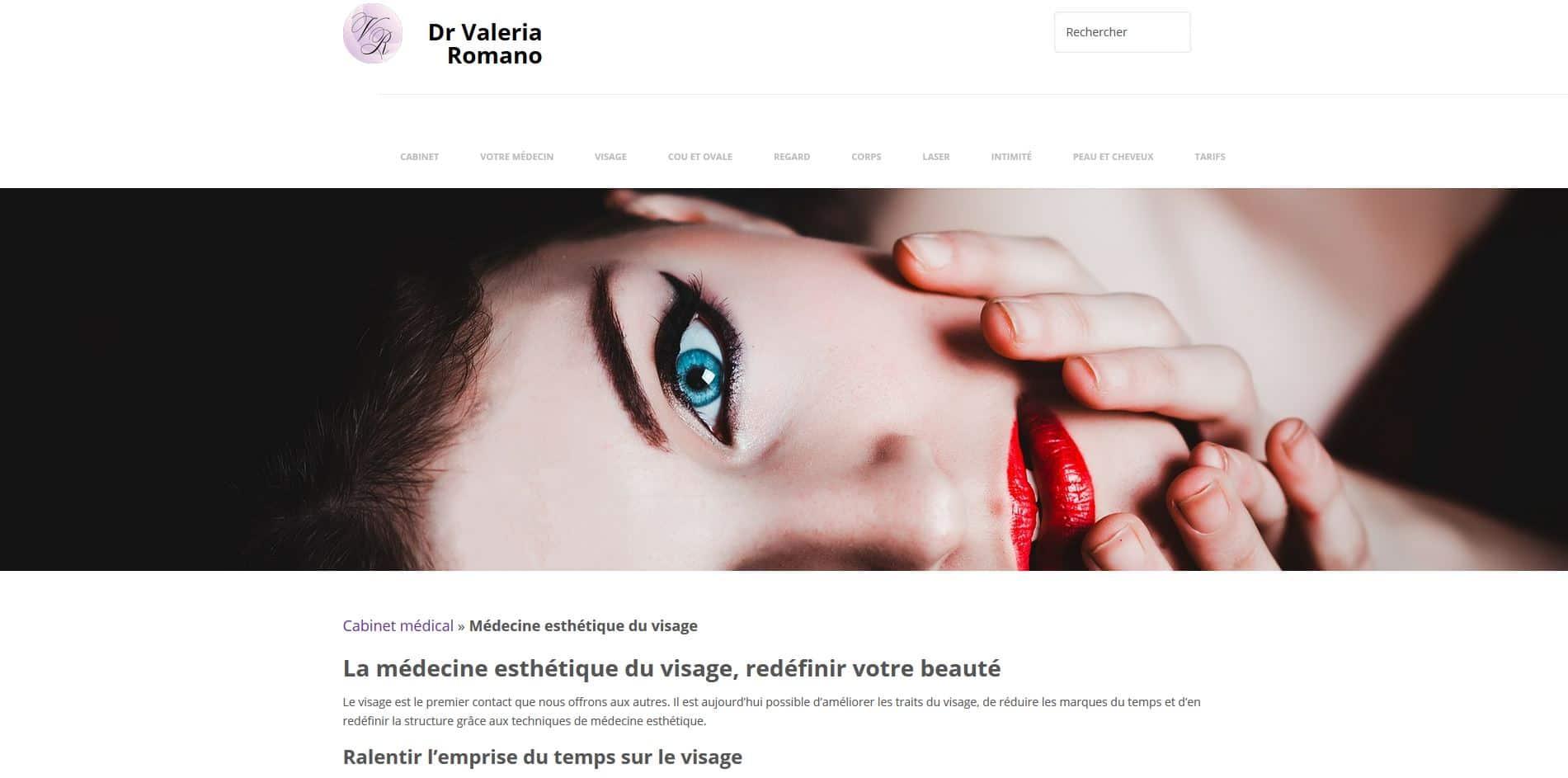 refonte site internet medecin paris