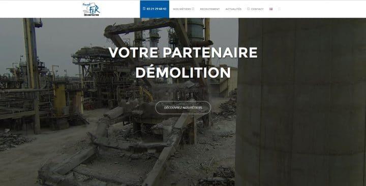 site web pour btp