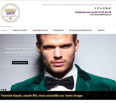Site de Yannick Gayot