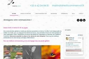 site agence de communication