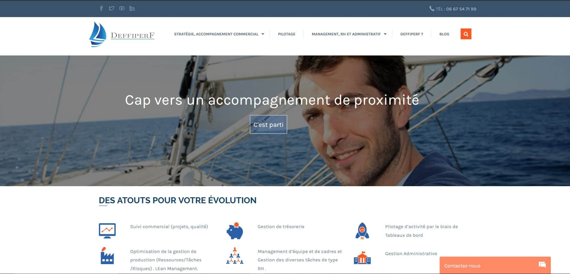 site accompagnement gestion