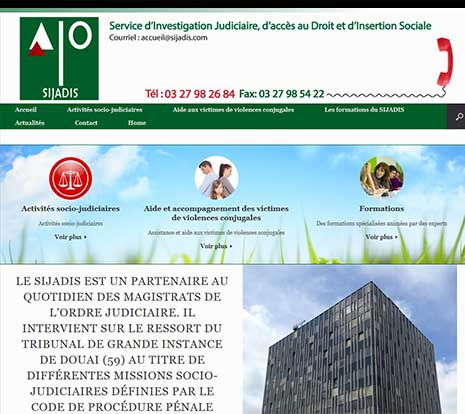 Site Institutionnel association