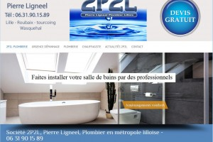 site internet société plomberie