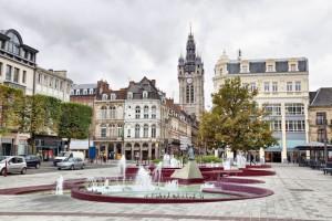 Place d'Armes à Douai (59)