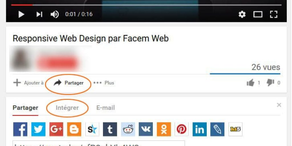 comment int u00e9grer une vid u00e9o youtube sur wordpress