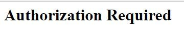 autorization code http
