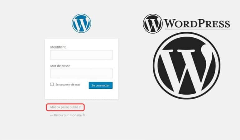 connexion back office de wordpress