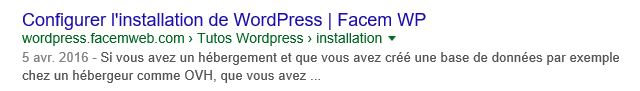 afficher dates extraits wordpress yoast