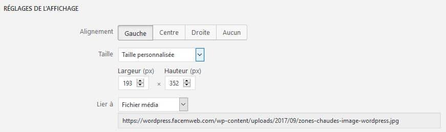 lier les fichiers medias pour le seo sur WordPress