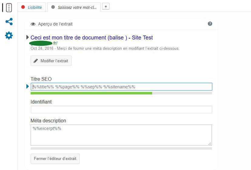 modifier titre seo wordpress