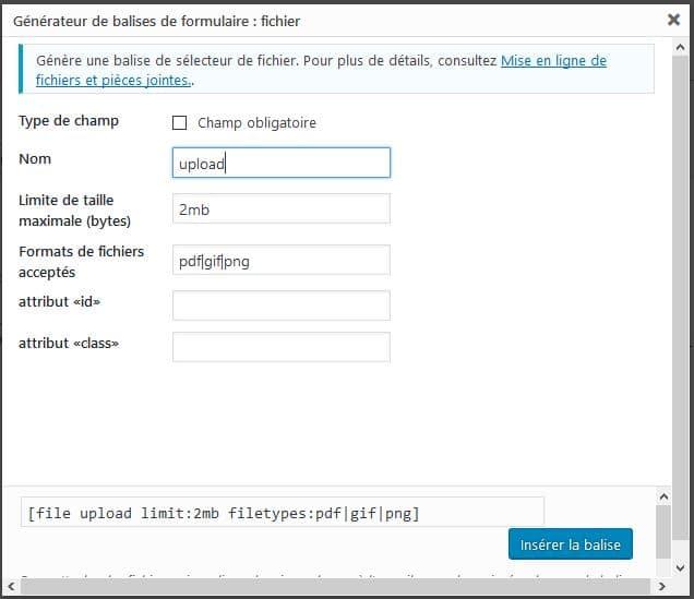 telecharger fichier wordpress