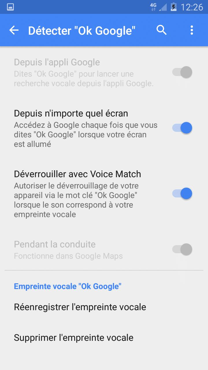 detecter ok google