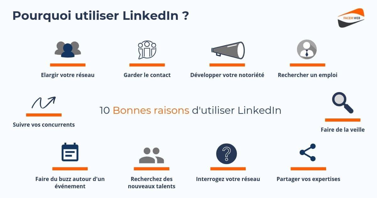 Pourquoi utiliser LinkedIn