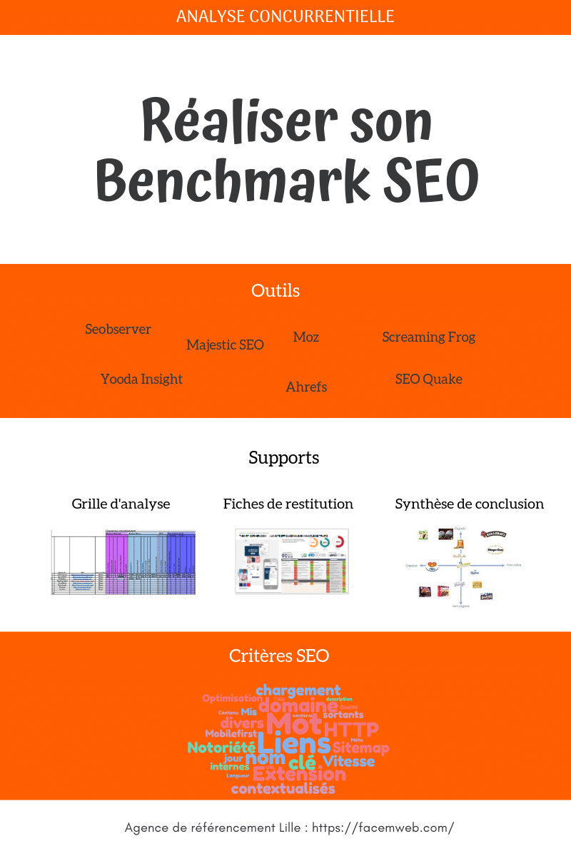infographie benchmark seo