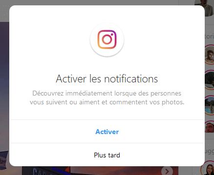 activer les notifications